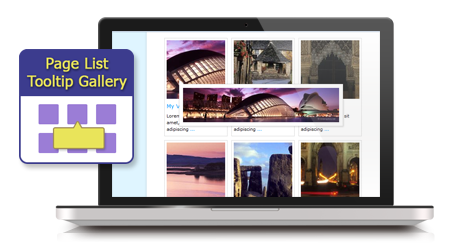Page List Tooltip Gallery